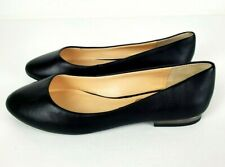 Jessica Simpson Womens Ginly Ballet Flat Black Soft Napa Size 7M NEW