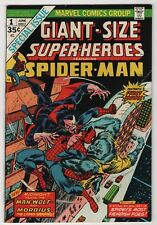 Giant-Size Super-heroes Spider-Man #1 VF 8.0 high grade Morbius Man-Wolf 1974
