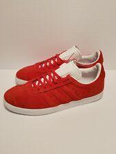 Adidas Gazelle STITCH & TURN Red Sz 10 NWT BOX BB6757 Originals Ortholite sole