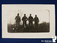 4 Minnesota Hunters Pine City 1919 Winchester & Remington Lots of Ammo