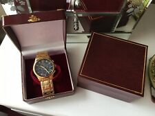 Men's Astron Solar Gold Plated Watch - Never Used