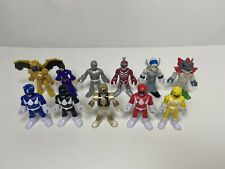Imaginext Lot Power Rangers 11 Figures Putty Villains Zord White Ranger