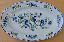 """Villeroy und Boch V&B Serie: """"Phoenix blau"""" Servierplatte 27,5 x 18 cm 4T3993"""