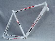 Müsing Twinroad Light Trekkingrad und Crossrad Fahrrad Rahmen Herren weiß