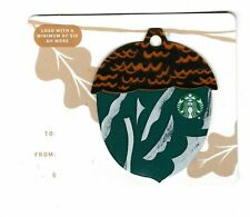 Starbucks collectible gift card no value mint #139 Green Ornament