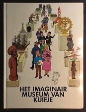 Tintin Kuifje het imaginair museum van kuifje HC Eerste druk met filmfolie 1979