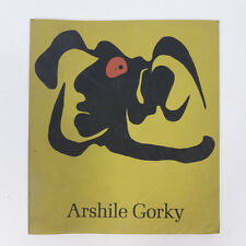 Vintage Arshile Gorky Paintings Drawings Studies by William C. Seitz Paperback