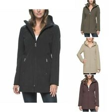 Women's Andrew Marc Long Softshell 4 Way Stretch Jacket Choose Size & Color