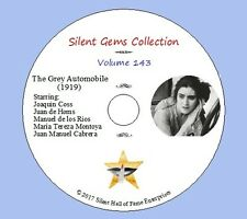 "DVD ""The Grey Automobile"" (1919) Classic Silent Crime Drama"