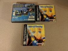 TALES OF DESTINY PLAYSTATION 1 PS1 NRMT- CONDITION JEWEL CASE AND MANUAL ONLY