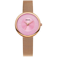 Women's Elegant Analog Quartz Ladies Slim Stainless steel Small Dial Wrist Watch