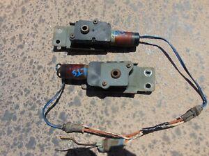 1991-92 Infiniti M30 Convertible Top Front Locking Latch Actuators LH & RH Both