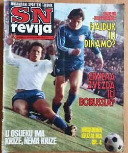 SN REVIJA 135 football Red Star Borussia Monchengladbach announcement final 1979