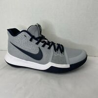 NIKE Kyrie 3 ID Athletic Basketball Shoes - Size 8 - AQ8767-991 Grey, Blue