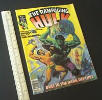 The Rampaging Hulk #6 USA 1977 Stan Lee Presents. Showdown With Sub-Mariner.
