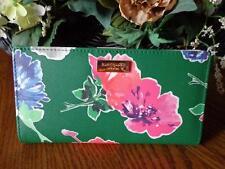 Kate Spade New York Grant Street Grainy Vinyl Stacy Wallet Spring Bloom NWT
