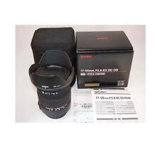 Sigma Zoom Camera Lenses 17-50mm Focal