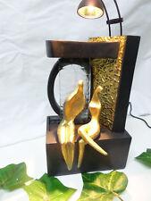 Zimmerbrunnen mit LED Spot und Skulpturen