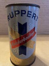 Ruppert Knickerbocker Flat Top Beer Can 12 oz. Straight Steel