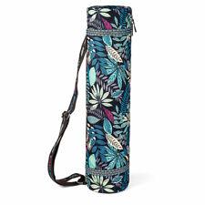 IG_ Stylish Portable Gym Fitness Yoga Mat Canvas Carry Pouch Shoulder Bag Gracio
