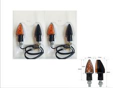 FCN- FRECCE NERE LAMPADA CORTE OMOLOGATE 62x31 mm per DERBI Senda 50/125/DRD