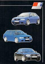 AUDI A3 & A4 Nowak Design bodystyling Accessories 1998-99 OPUSCOLO TEDESCO