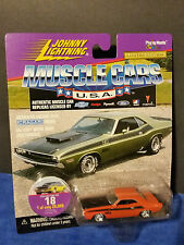 1970 DODGE CHALLENGER RT #18 1998 JOHNNY LIGHTNING MUSCLE CARS U.S.A. 1:64