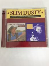 Slim Dusty 2 CD Country Western Cowboy Australian Down The Road/ Drover's Lament