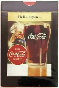 COCA-COLA ~ HELLO AGAIN W/ COKE SPRITE BOY PLAYING CARDS ~ NEW SEALED DECK!