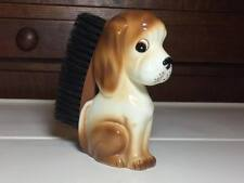 Vintage ceramic dog shoe brush made in Japan