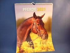 Fotokalender Bildkalender 2021 - Pferde, 33x24cm, zum Aufhängen !