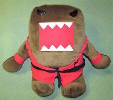 "18"" DOMO KARATE Black Belt Red Uniform 2014 Kellytoy Plush Stuffed Free Standing"