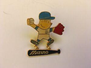 1992 BARCELONA OLYMPIC JAPANESE SPONSOR MIZUNO PIN BADGE BASEBALL PINS