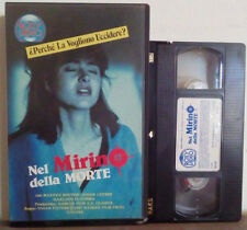 VHS FILM Ita Thriller NEL MIRINO DELLA MORTE roxy video ex nolo no dvd(VH29)