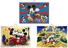3 Cadres / Tableaux décoratifs chambre enfant - Mickey 02