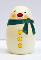 Usaburo Kokeshi Japanese Wooden Doll 9-48 Yuki Daruma (Snowman)