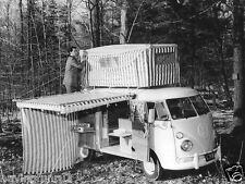 1960 Volkswagen T 1 Camper Full Canopy press photo   8 x 10 Photograph