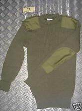 British Army, Verde COMMANDO maglione. lana. v-warm 102cm