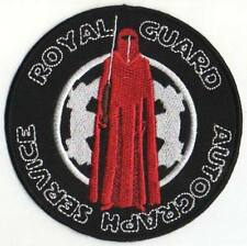 STAR WARS ROYAL GUARD AUTOGRAPH SERVICE PATCH 4""