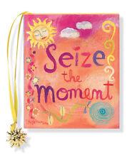 Seize The Moment Petite Livre par Ruth Cullen 80 Pages Avec Breloque