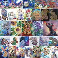 5D DIY Special Shaped Diamond Painting Animal Cross Stitch Embroidery Mosaic Kit