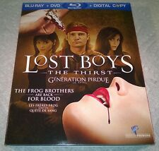 Lost Boys : The Thirst (Blu-ray, 2010, Canada) with Slipcover Like New