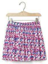 NWT - Girls Gap Kids Hearts Print Flippy Skirt - Size Size XXL 14 16