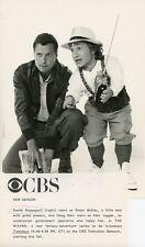 DOUG BARR DAVID RAPPAPORT PORTRAIT THE WIZARD ORIGINAL 1986 CBS TV PHOTO