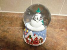 DisneyTim Burton's Nightmare Before Christmas SnowGlobe Jack Skellington Snowman