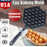 Kitchen Waffle Eggettes Pan Nonstick Egg Bubble Maker Baking Mold Plate Tool US