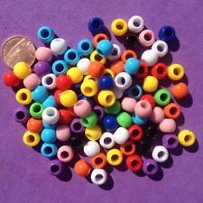 100 X Abalorios Mixtos, Llaveros, Craft, fabricación de joyas, grano de caballo, espaciador