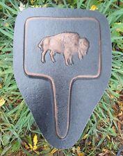 "MOLD Buffalo plant spike garden casting plaster concrete mould 13"" x 8"" x 3/4"""