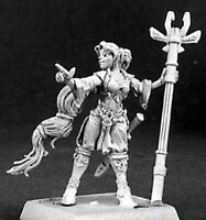 1x SIELLENDRIA SPELL SISTER - WARLORD REAPER figurine miniature rpg jdr 14335