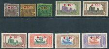 Tunisia - 1916 - Scott B3-B11 - Cv $290.05 - Complete Set - Og - Lh